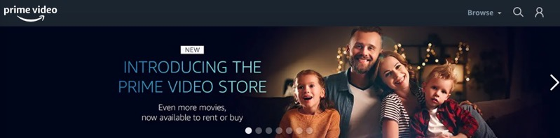 Amazon prime video store canada