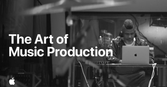 Art of music production apple