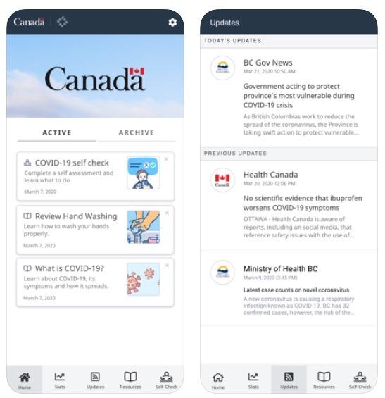 Canada covid 19