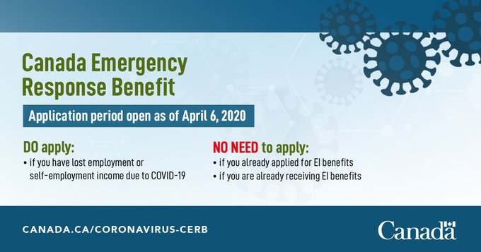 How to Apply for Canada Emergency Response Benefit (CERB ...