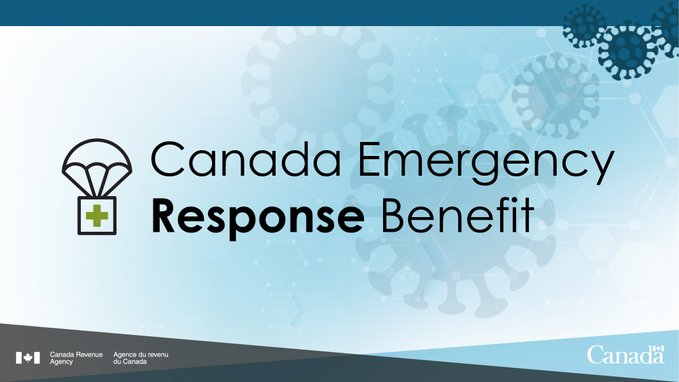 Canada emergency response beneft CERB apply online