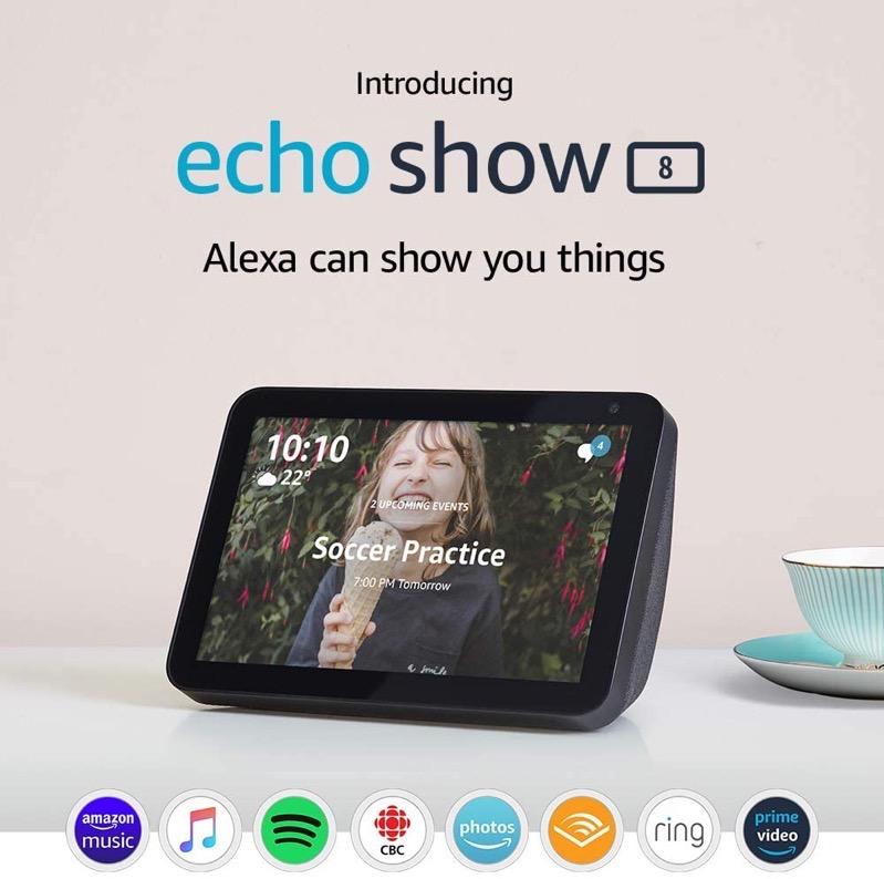 Echo show 8 hd