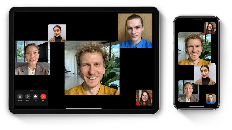 Ios13 1 ipad pro iphone xs group facetime hero