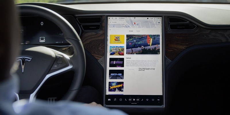 Tesla infotainment upgrade