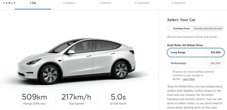 Tesla model y price increase