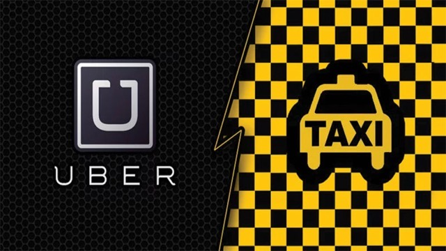 Uber taxis