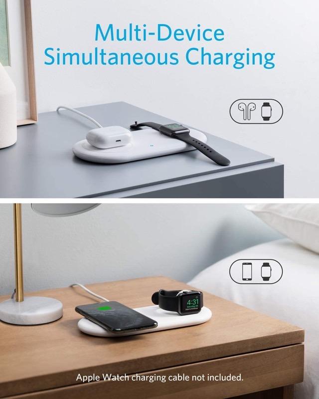 Anker charging station
