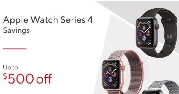 Apple watch series 4 staples