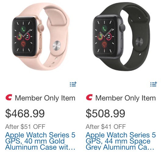 Apple watch series 5 sale costco 2