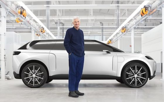Dyson Shares Details of its Canceled Seven-Seater Electric Car Project