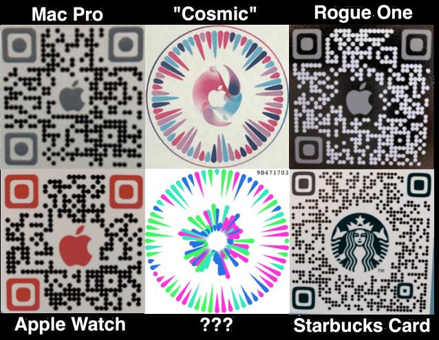 Gobi QR codes
