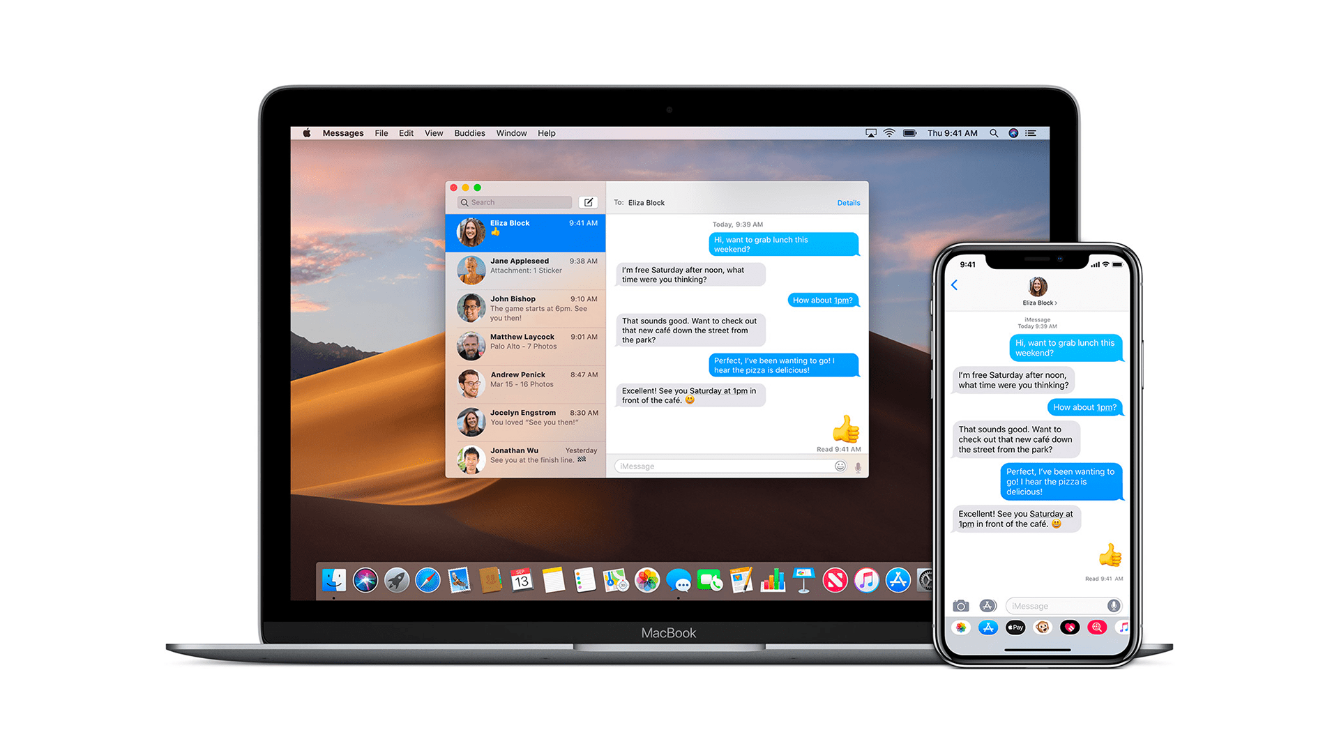 macOS Messages Upgrade Includes Extensions, Stickers, and Message Effects