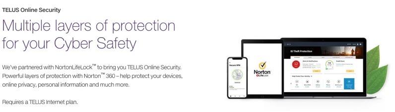 Telus online security
