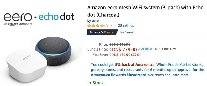 Amazon eero dot fathers day