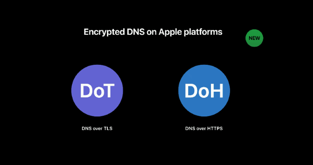 Apple encrypted dns
