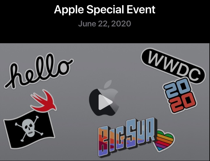 Apple special event replay