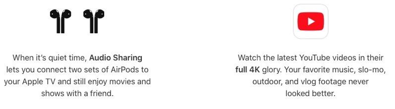 Apple tv 4k youtube 4k