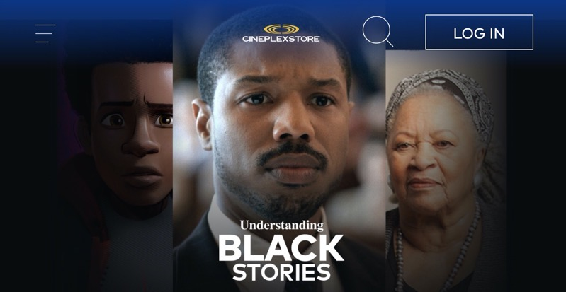 Cineplex understanding black stories