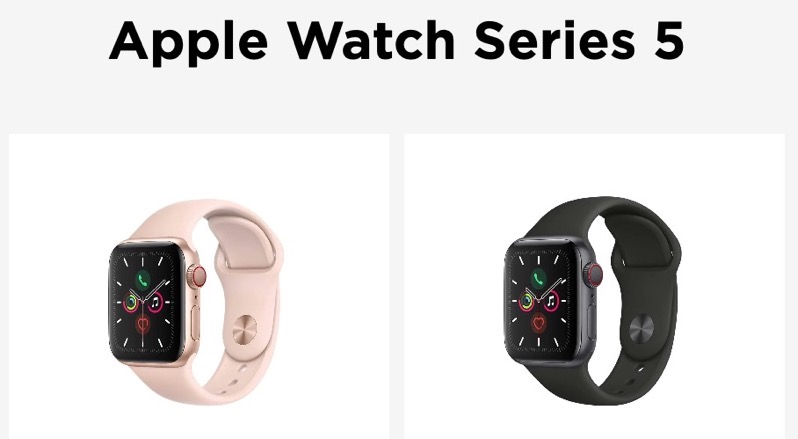 Freedom mobile apple watch
