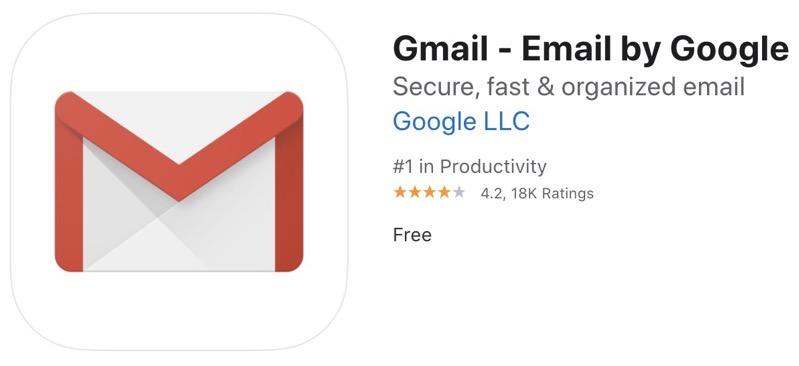 Gmail ios 2020