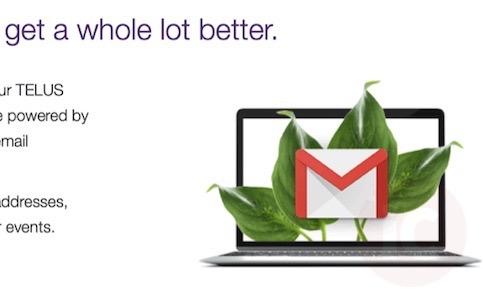 Telus gmail