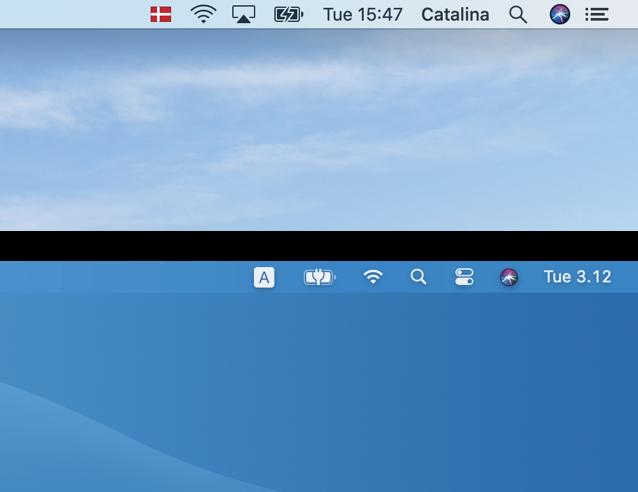 0 menu bar