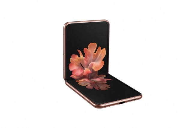 05 galaxyzflip5g mystic bronze l30 table top