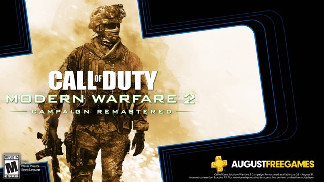 PlayStation Plus Free Download: Call of Duty Modern Warfare 2 Available July 28