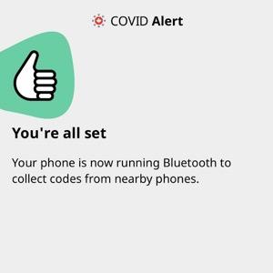 Covid alerta beta test ios