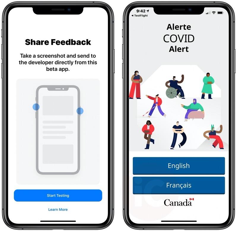 Covid alert ios beta 2
