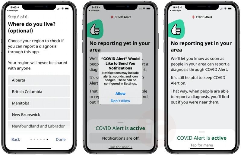 Covid alert ios beta 5
