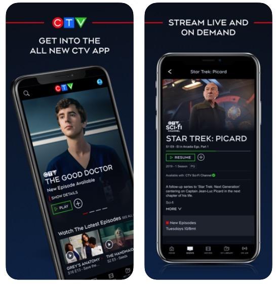 Ctv app 5 0 new
