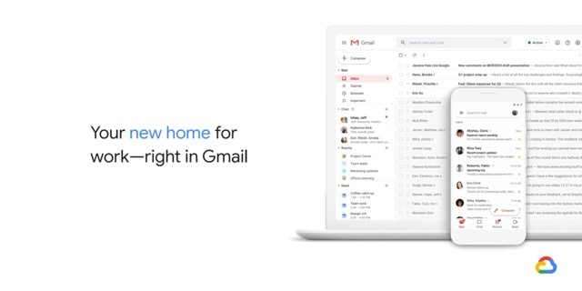 Gmail redesign cover