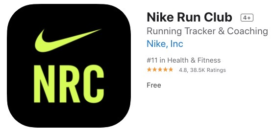 Nike run club apple watch