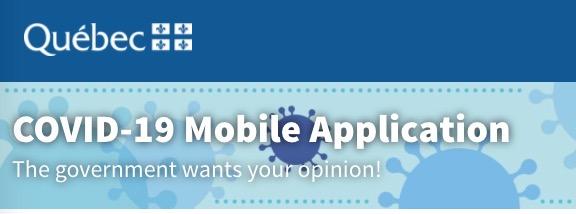 Quebec covid 19 app