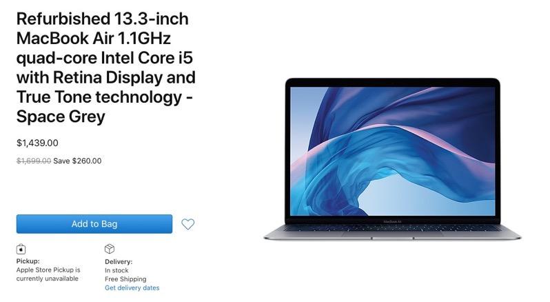 Refurbished 2020 macbook air canada