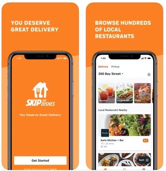 Skipthedishes iphone