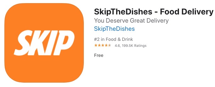 Skipthedishes orange