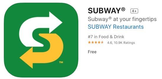 Subway iphone