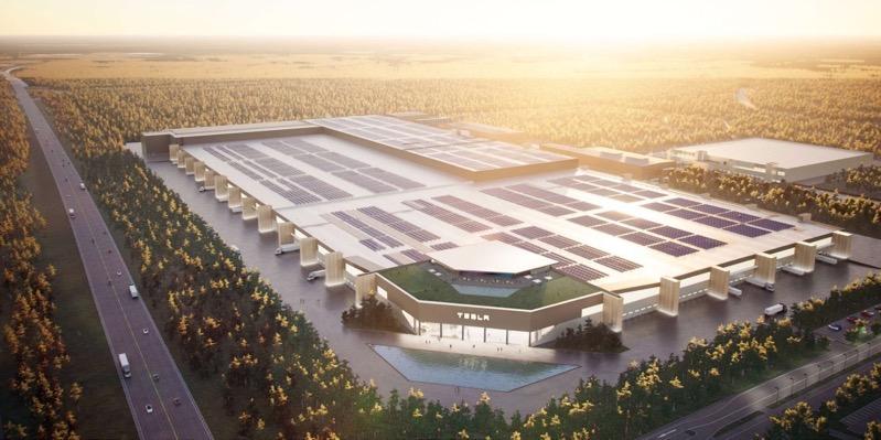 Tesla gigafactory berlin render
