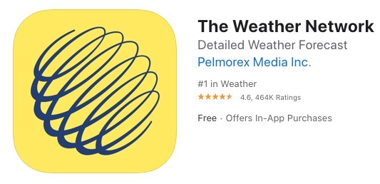 The weather network ios
