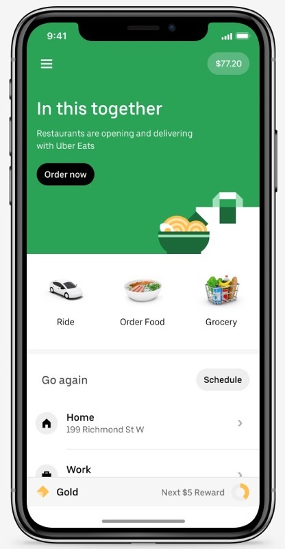 Uber grocery
