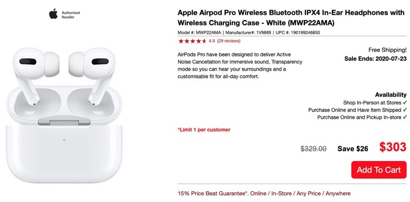 Visions airpods pro sale
