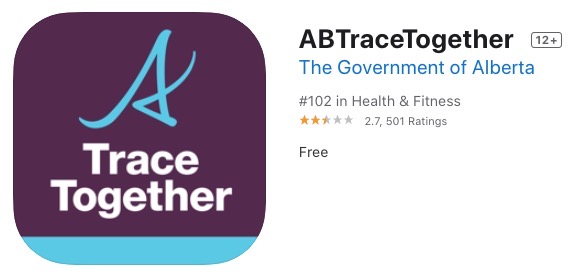 Abtracetogether app itunes