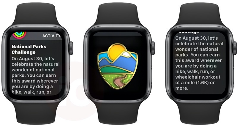 Apple watch national parks challenge