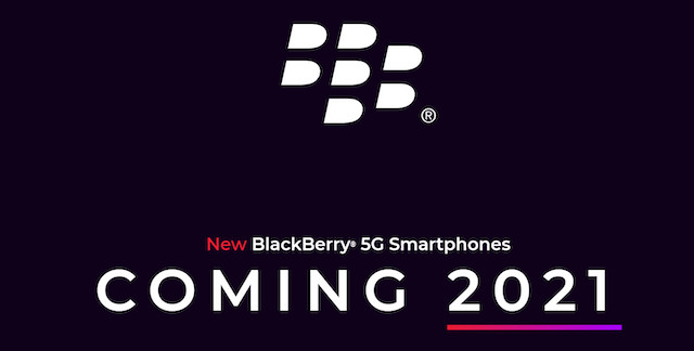 Blackberry 5G launch