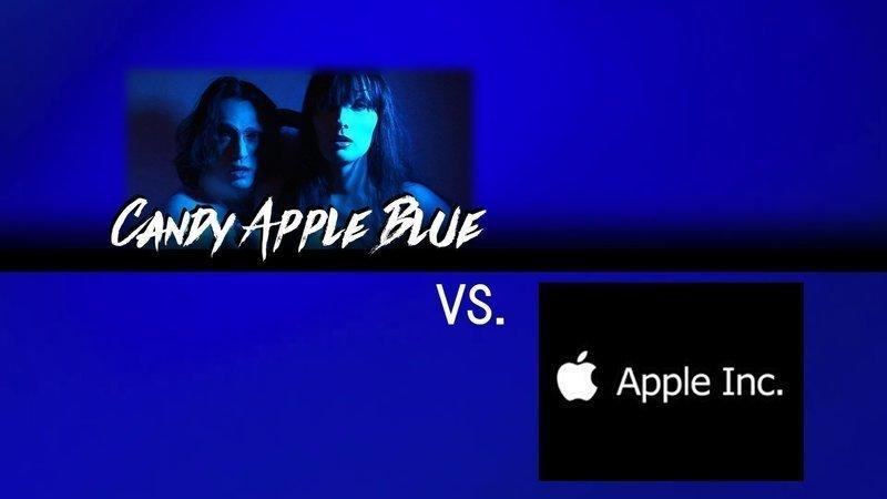 Candy apple blue