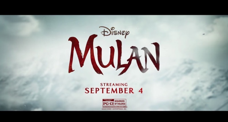 Disney+ mulan september 4