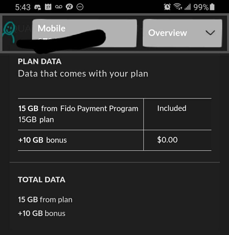 Fido 10gb bonus offer
