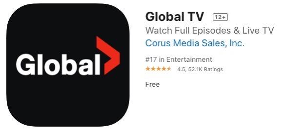 Global tv ios app